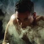 Профессиональная фотосессия в студии с дымом