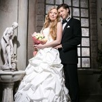 фотосессия в интерьерной студии свадьбы