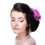 профессиональный макияж и прическа для свадебной фотосессии образ жасмин
