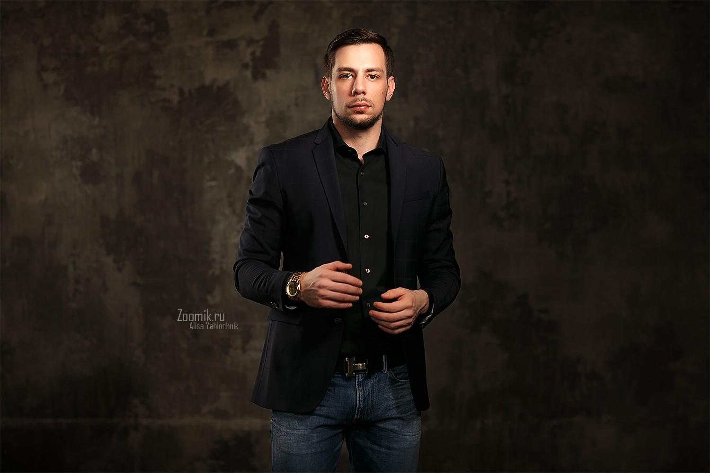 фото мужчин фотосессия