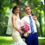 Свадебная фотосессия на природе в Москве